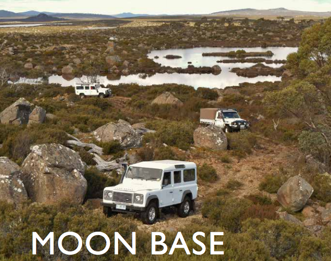 Moon Base Australian Traveller Thousand Lakes Lodge