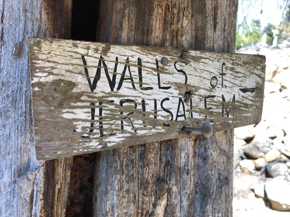 Thousand Lakes Lodge - three day Walls of Jerusalem walk