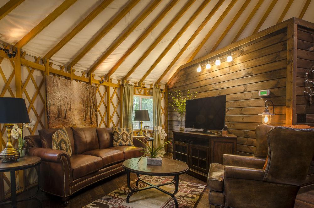 Otter Creek Luxury 2 Bedroom Yurt 90