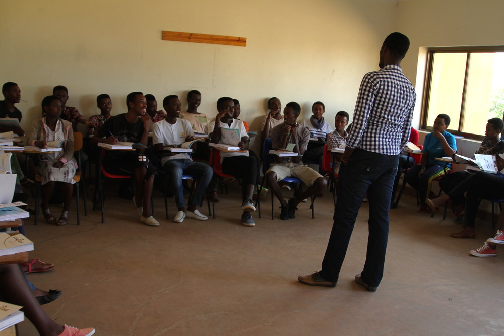 Class with Village Director