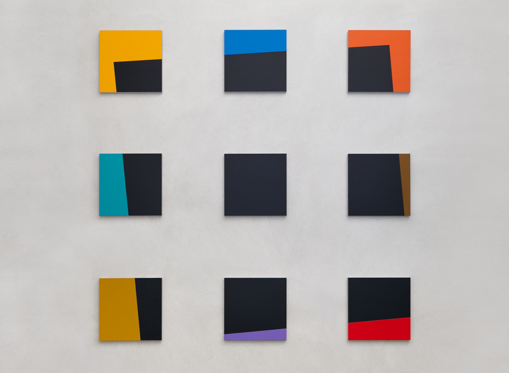 Windows No.2 2014 Acrylic on panel 60 x 60 in / 152.4 x 152.4 cm
