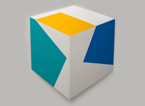 Suspended-Teal Yellow Blue