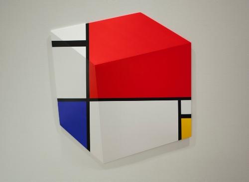 Mondrian in a Cube