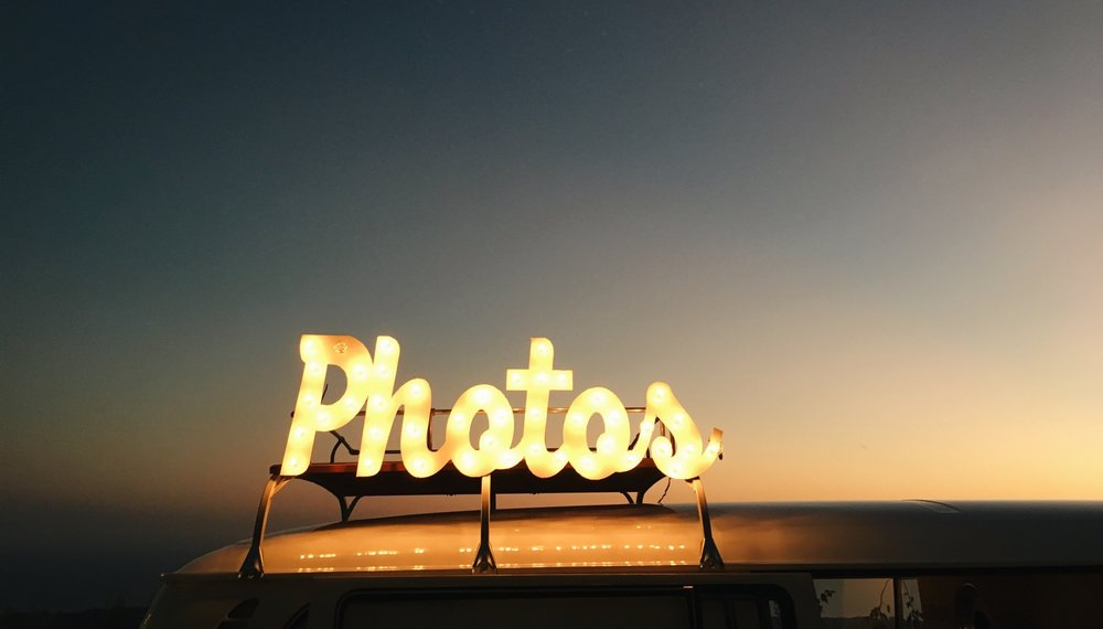 Photo-booth Sign