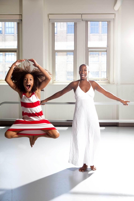 Tania Isaacs with daughter