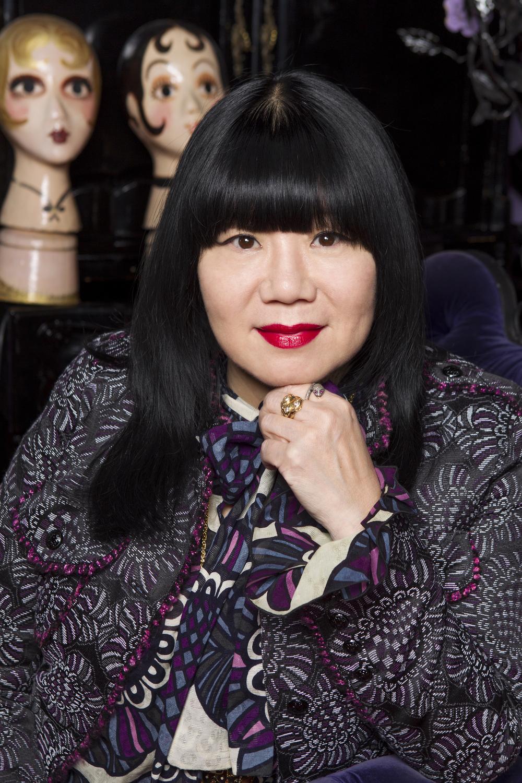 Fashion designer Anna Sui