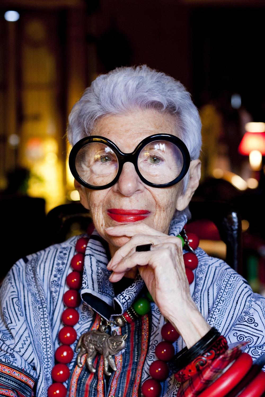 Iris Apfel, interior decorator and style icon