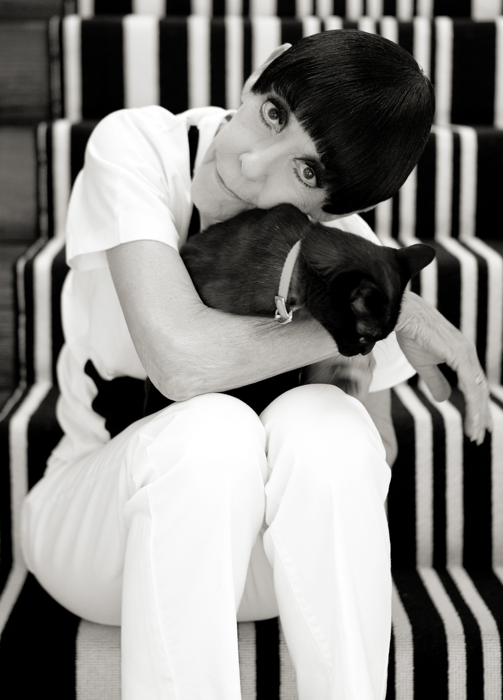 Peggy Moffitt, model and muse