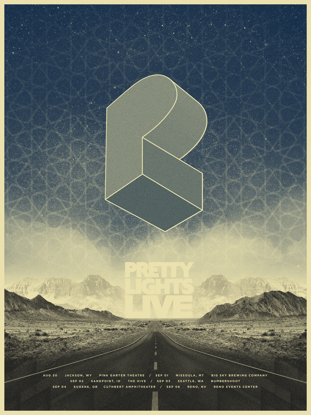 Perfect Pretty Lights   Mountain Tour Poster Gallery
