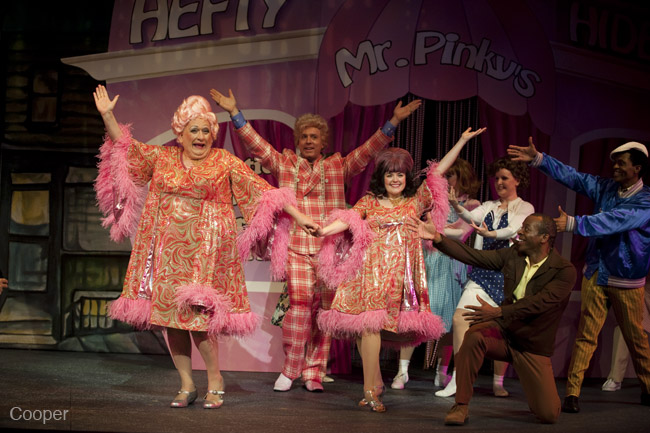 Starring as Tracy Turnblad in Hairspray- Arts Club Theatre