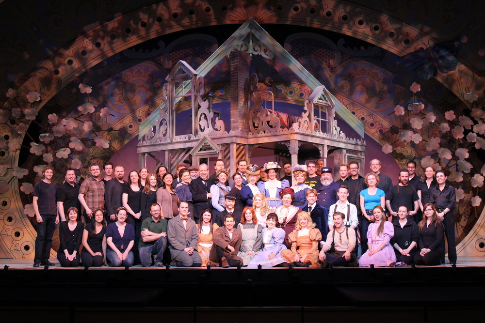 The entire cast of Anne of Green Gables