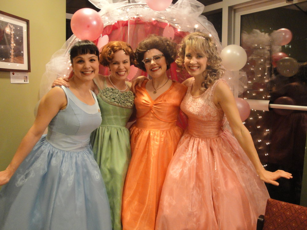 The ladies of the Wonderettes