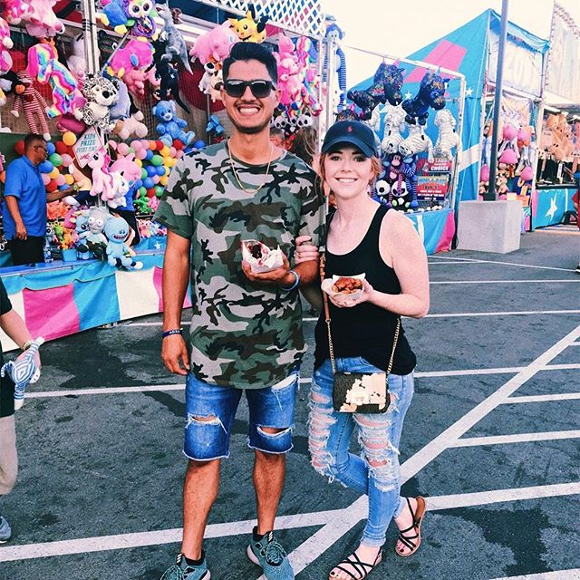 Fried Food and loving you🎡
