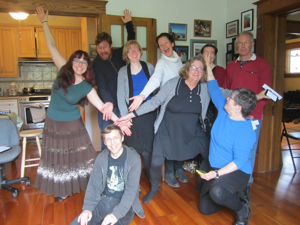 Dugan teaches Calling 101 in Toronto, Ontario, Canada