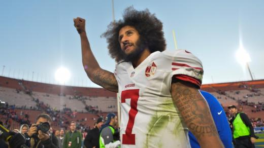 "On Colin Kaepernick - ""They concluded 10 quarterbacks were worse than him, seven were on par, and 15 were better. Certainly this qualifies a man for a post in America's beloved sport of sweat and fury."""