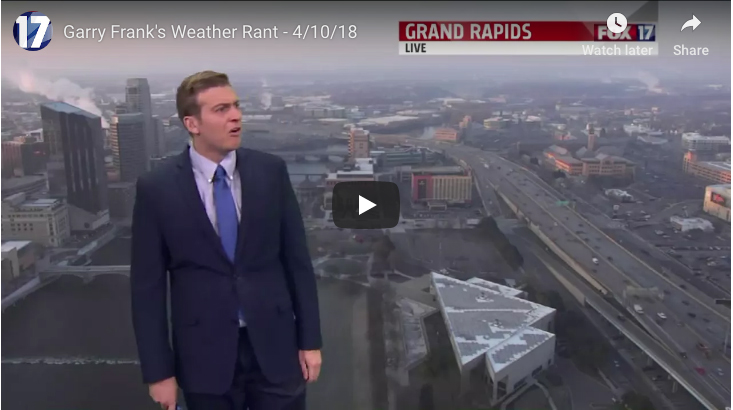 Weatherman Launches Into Sarcastic Rant Over Bad Weather - Carbonated.TV