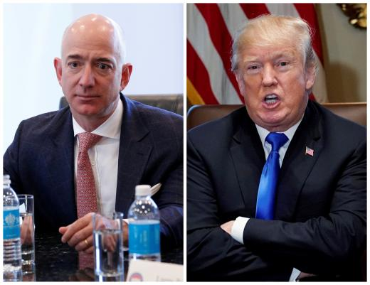 """Did Trump Meet With Oracle CEO To Sabotage Amazon Deal?"" - Published in: Carbonated.TV"