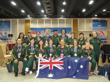 WTQA AUSTRALIAN TEAM FOR   2011   HONG KONG FESTIVAL