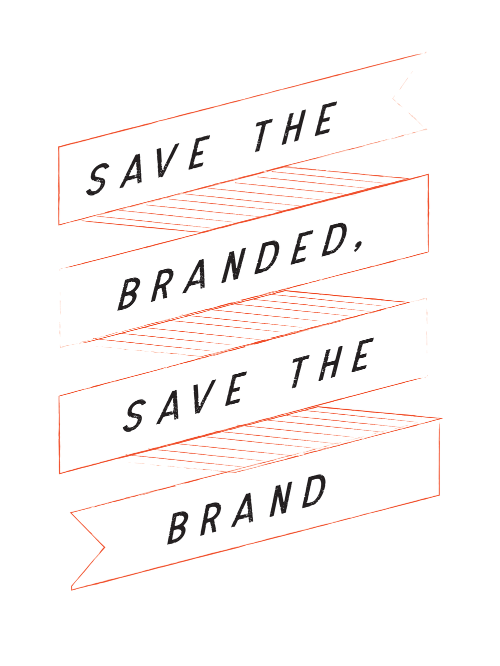 Save the branded - This ability to like something – to be branded – is being threatened by the very techniques we are using to do our branding, specifically on digital. The cacophony of update dings, @ reply buzzes and pop-up ads have turned the attention spans of the tech savvy into, well, mush. And no matter how hard you try to engage with mush, there is little return.