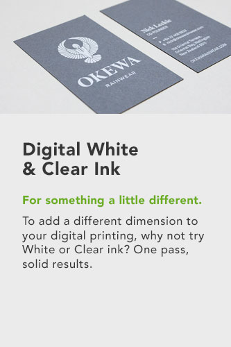 Digital White Ink