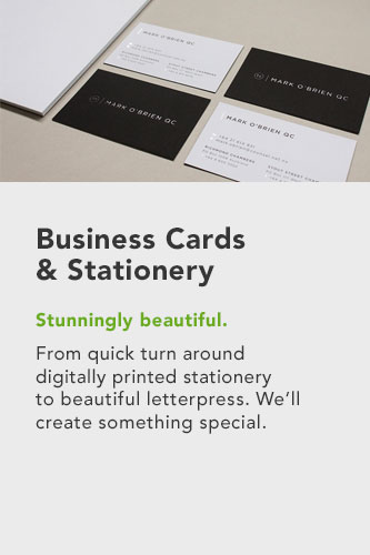 Business Cards & stationery