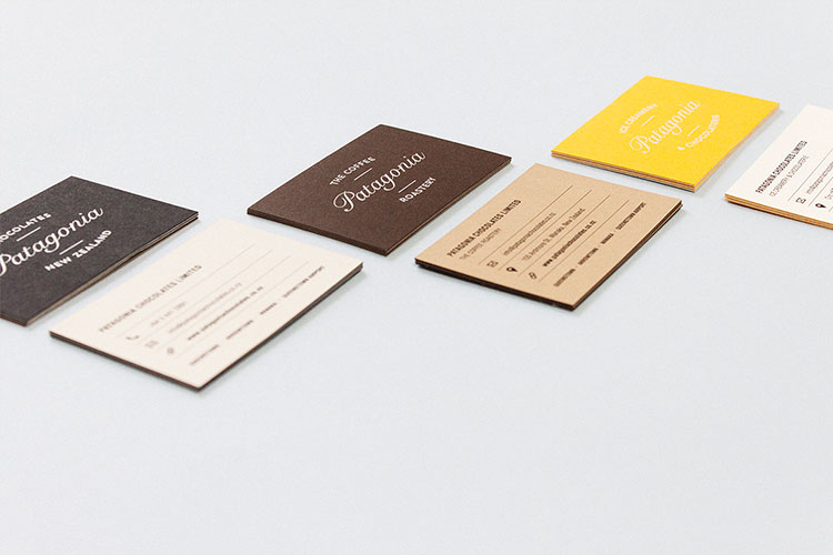 Patagonia Business Cards