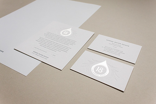 Embossing & Debossing - For depth and dimension.To add focus on special areas of your collateral. All touchy-feely!