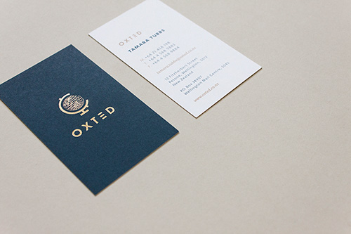 Foiling - Add value.Make people look twice at your business collateral, invitations or packaging with foil.