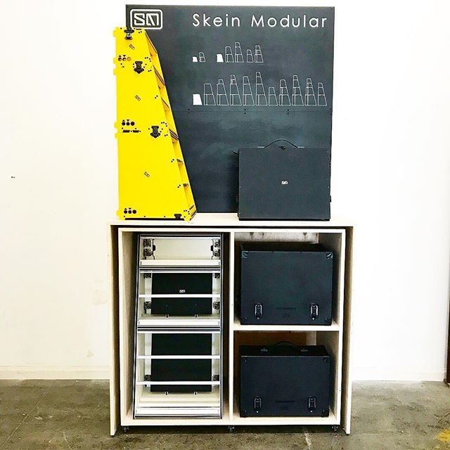 We're all ready for @thenammshow this weekend and so excited to display our new products! . . . #eurorack #eurorackmodular #eurorackcase #modular #modularsynth #modularsynthesizer #synthesizer #synth #la #socal #namm #nammshow #nammshow2018 #edm #noisemusic #instrument #ambient #modularnoise #homestudio #studio #audio #music #Woodworking #woodwork #hdpe #plastic