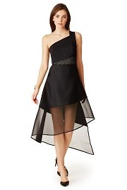 David Koma Crossed Over Dress