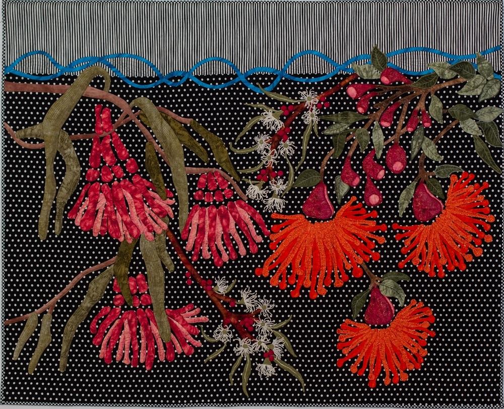 Amongst The Eucalypts. 164w x 131h