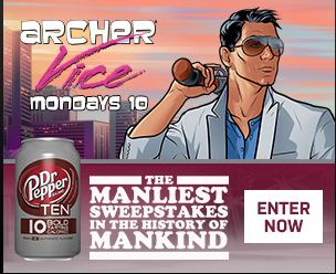 Dr pepper ten manliest sweepstakes