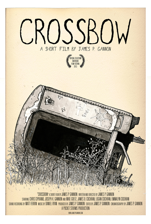 """Crossbow"" movie poster"