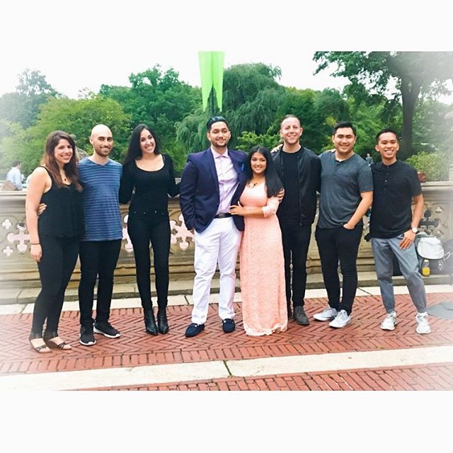 "On @chrissyteigen and @johnlegend 's anniversary, we got to sing ""All Of Me"" at a beautifully thought out proposal in Central Park. We are so excited to be a part of this happy couple's love story! Great job Gagan! . . . #music #nyc #acappella #nycacappella #nycmetro #centralpark #proposal #shesaidyes #singing #surprise #happycouple #couplegoals #echoacappella"
