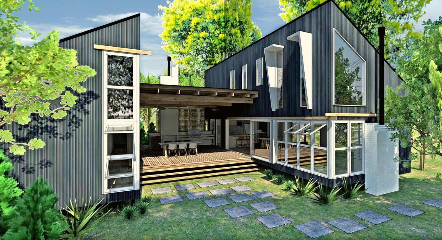 custom design u2014 baahouse granny flats tiny house small