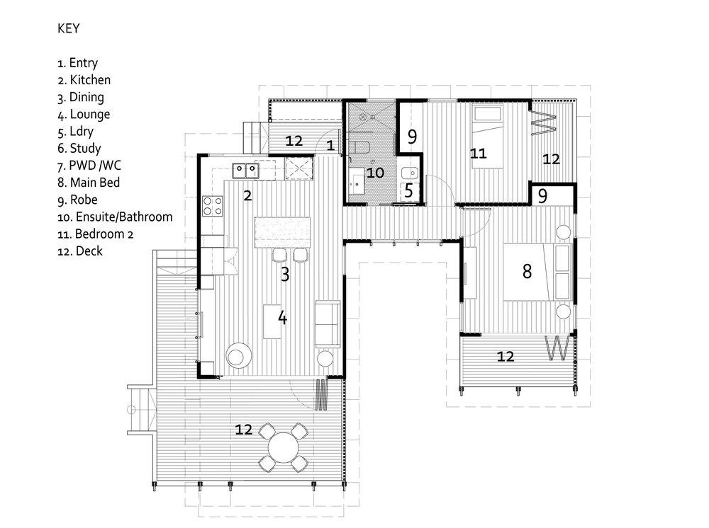 LINCOLN 2B - FLOOR PLAN -60SQM