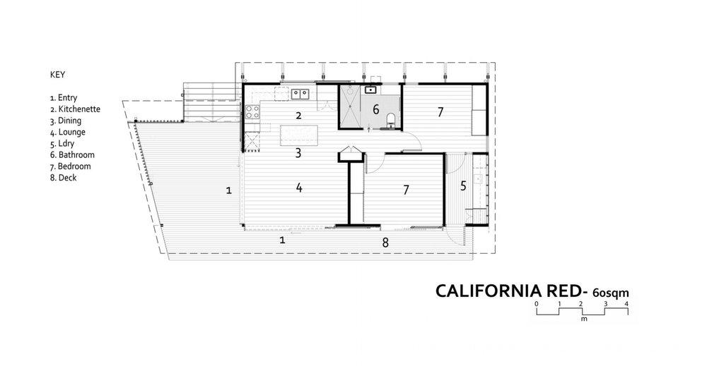 CALIFORNIA RED DESIGN