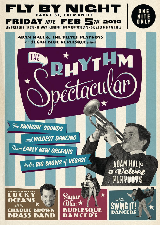 Design poster retro - Vintage Concert Poster Design