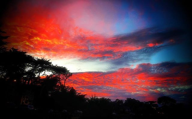 Monterey sunset #naturesrad #ososlick #osofresh #lovelife #followyourpath #peace
