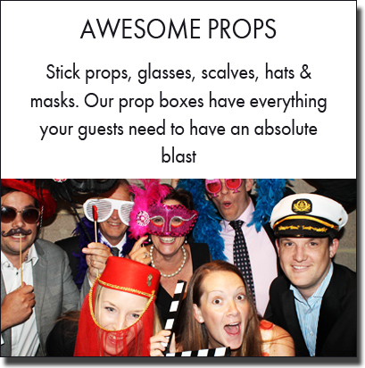 HotShots Photo Booths has the best selection of photo booth props. Sydney photo booth hire.