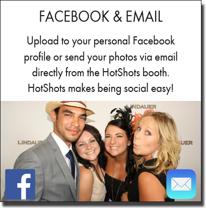 Social capabilities directly from the photo booth. Sydney photo booth hire.