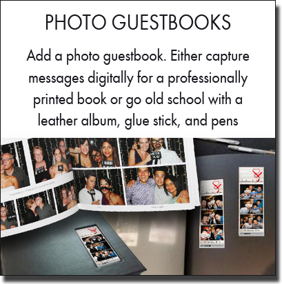 Beautiful photo booth guestbooks and albums. Sydney photo booth hire.
