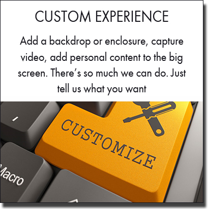 Custom photo booth packages. Photo booth branding. Sydney photo booth hire.