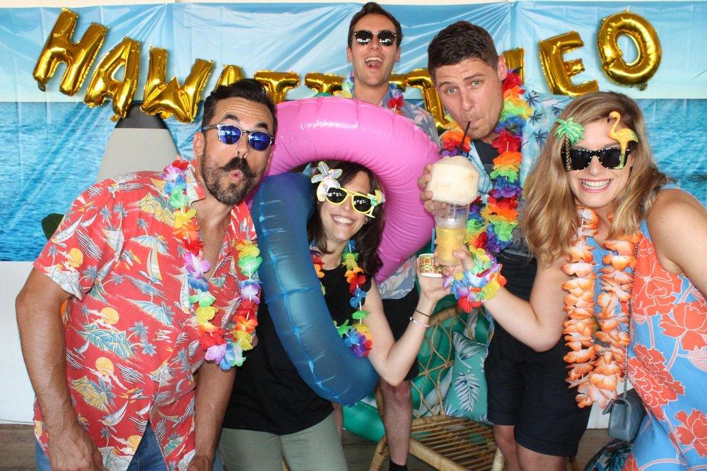 Ogilvy Hawaii Five-O Party