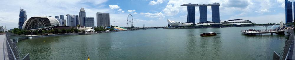 View from Jubilee Bridge