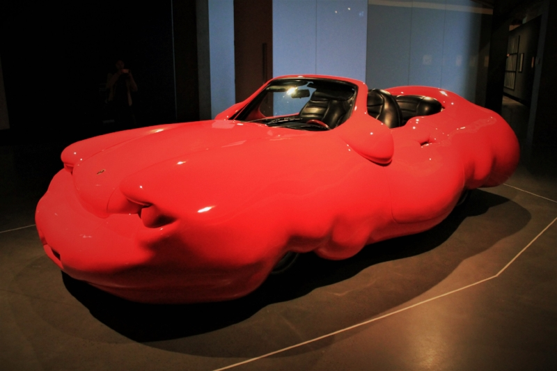 Erwin Wurm's  Fat Car  at MONA