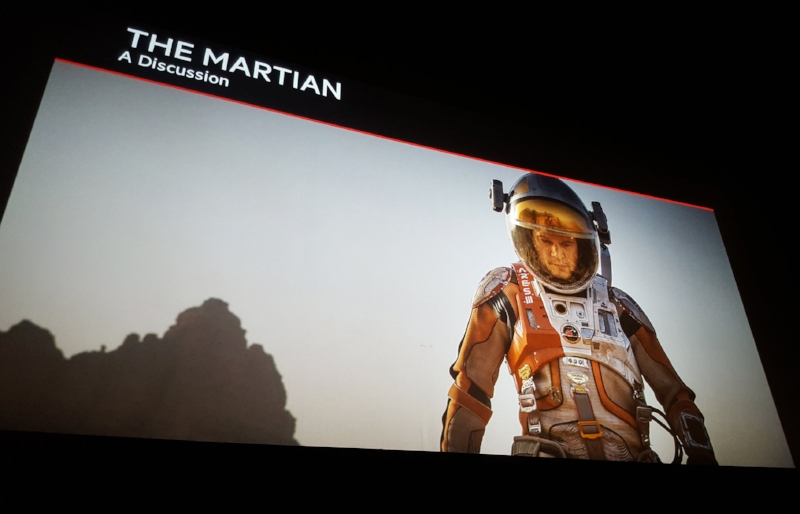 The Martian viewing and panel discussion, 2016