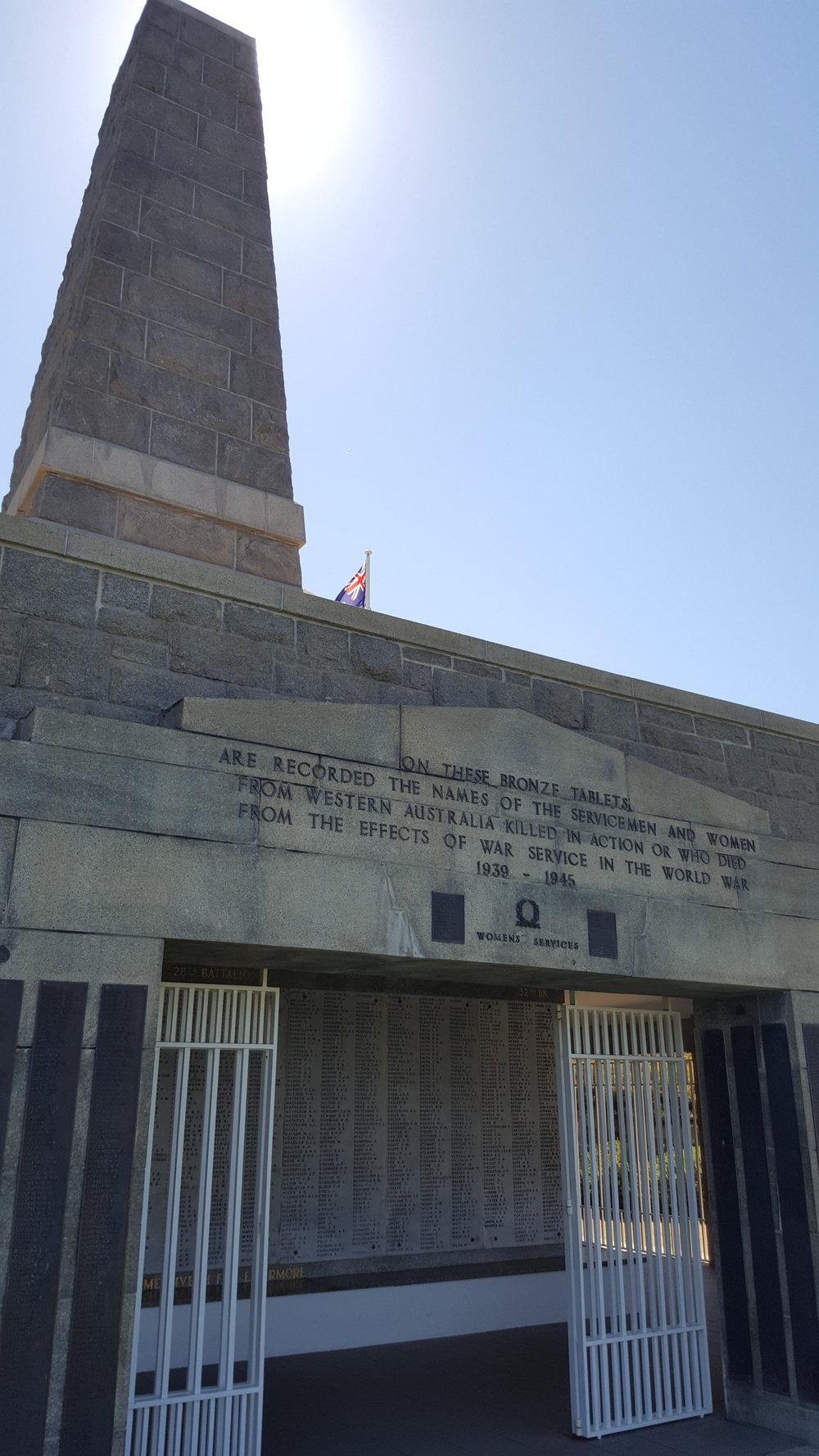 WA State War Memorial