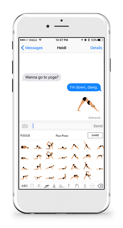 For Teachers The Great Benefit Of Yogoji Is Being Able To Grab Icons Each Pose And Create Sequences With A Tap Go Approach Rather Than Draw Funny