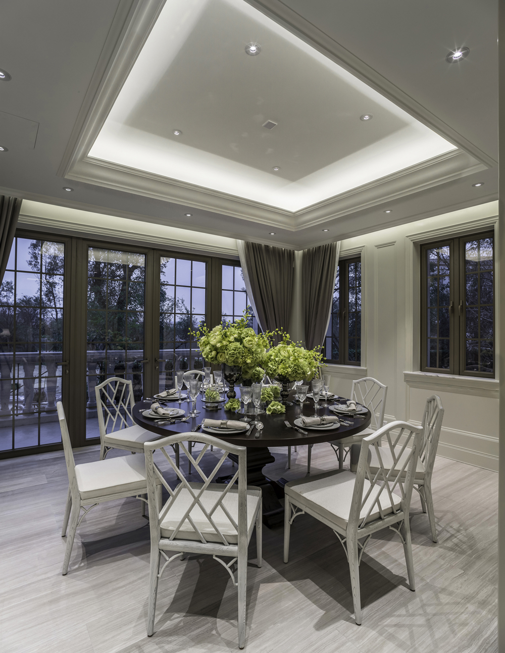 Attitude Asia Interior Design Luxury residential interior by Suzanne Wong Guangzhou China Panyu